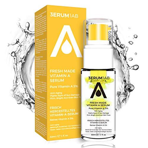 DIY Vitamin A Retinol Serum 5% | 2020 Locking Frische Design | Einzigartiges Space Capsule Design | Professionelles Anti-Aging-Serum | Fortgeschrittene aufhellende natürliche Gesichtsbehandlung