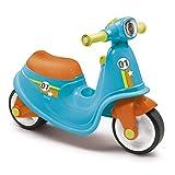 Smoby - Porteur Scooter Bleu - Pour Enfant Dès 18 Mois - Roues Silencieuses - Coffre à Jouets - 721001