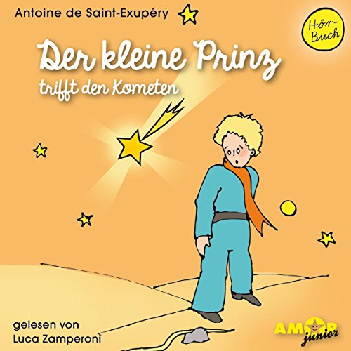 Der kleine Prinz trifft den Kometen Titelbild