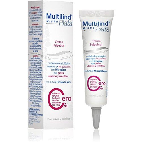 Multilind Microplata - Crema Palpebral para el Cuidado Dermatológico Intensivo de los Párpados, Pieles Atópicas y Sensibles - [ 15ml ]