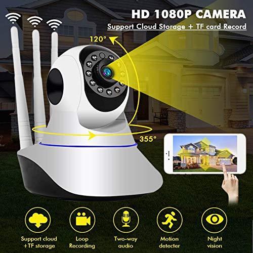 card for cctv cameras 1080P IP Camera 64 TF Card Wireless Home Security IP Camera Surveillance Camera WiFi Night Vision CCTV Camera Baby Monitor