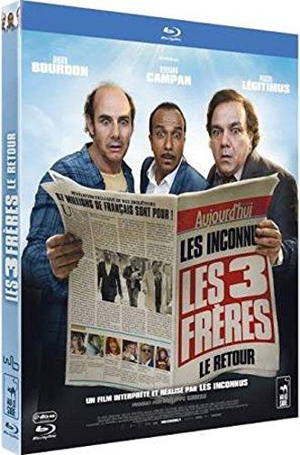 Blu-Ray : Les 3 (trois) Frères : Le retour [ Les Inconnus ]