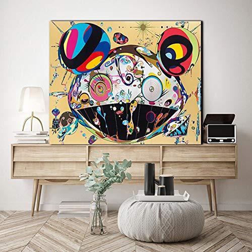 SLQUIET Impresión de póster de Arte Abstracto sin Marco Fire is a Wall Art Picture Decoration Lienzo Pintura niños Dormitorio Sala de Estar decoración del hogar Sin Marco 40x60 cm