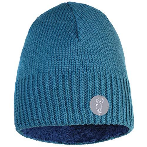 ALPIDEX Strickmütze Wintermütze Daman Herren Warme Mütze Weiches Innenband, Farbe:Petrol