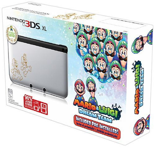 Nintendo 3ds Xl Silver Mario Luigi Dream Team Limited Edition Buy Online In Bahamas Nintendo Products In