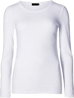 Momo&Ayat Fashions Ladies Jersey Long Sleeve Round Neck Basic T-Shirt Top AUS Size 8-26