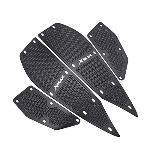 Moto reposapiés Motocicleta X MAX reposapiés Cojines del pie del Pedal Pedales...