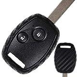 Carbon Soft Case Schutz Hülle Auto Schlüssel für Honda CR-V III Civic Accord VII Jazz II FR-V Pilot HR-V I