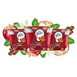 Glade Candle Apple Cinnamon, Fragrance Candle Infused with Essential Oils, Air Freshener Candle, 3-Wick Candle, 6.8 Oz, 3 Count