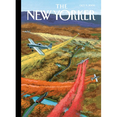 The New Yorker (Oct. 9, 2006) audiobook cover art