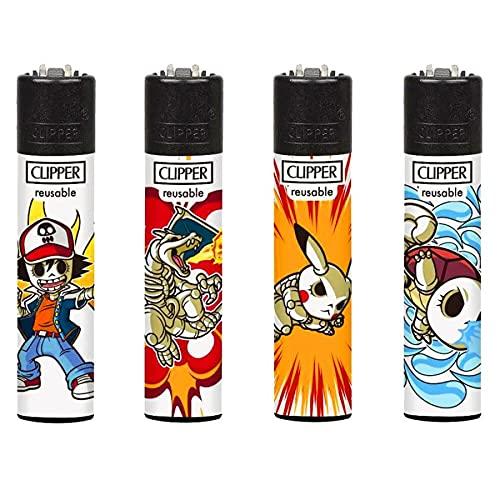 Clipper Lighter Set Pokemon / Ataqu