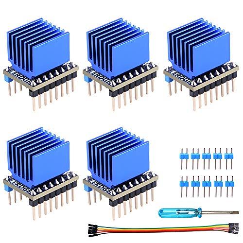 Owootecc TMC2225 V1.0 - Driver motore passo-passo con dissipatore di calore per SKR V1.3 MKS GEN L Rampe 1.4/1.5/1.6 3D Scheda di controllo della stampante