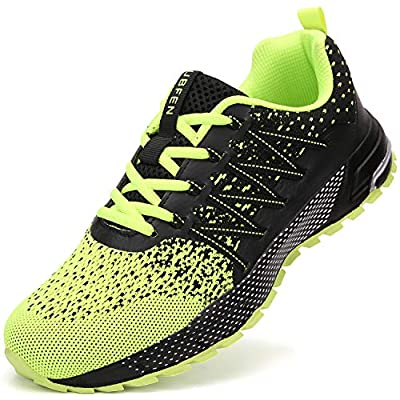 UBFEN Mens Womens Sports Running Shoes Jogging ...