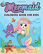 Mermaid Coloring Book for Kids Ages 4-8: 40+ Unique and Beautiful Mermaid Coloring Pages (Children's Books Gift Ideas)