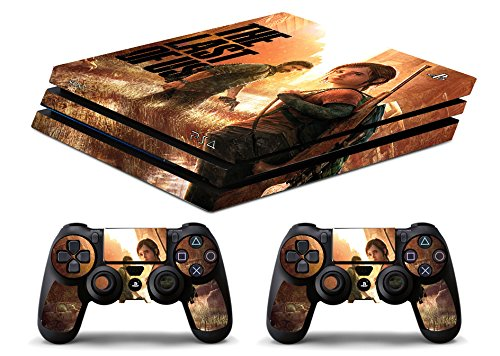 Skin Ps4 PRO - THE LAST OF US - limited edition DECAL COVER ADESIVA Playstation 4 Slim SONY BUNDLE - VINILE LUCIDO