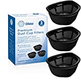 Dista Filter - Dust Cup Filter Compatible with Shark UltraCyclone Pro & Pet Pro+ Cordless Handheld Vacuums CH901, CH950, CH951, CH951C. Compare to Part # XFTRCH900 (Pack of 3)