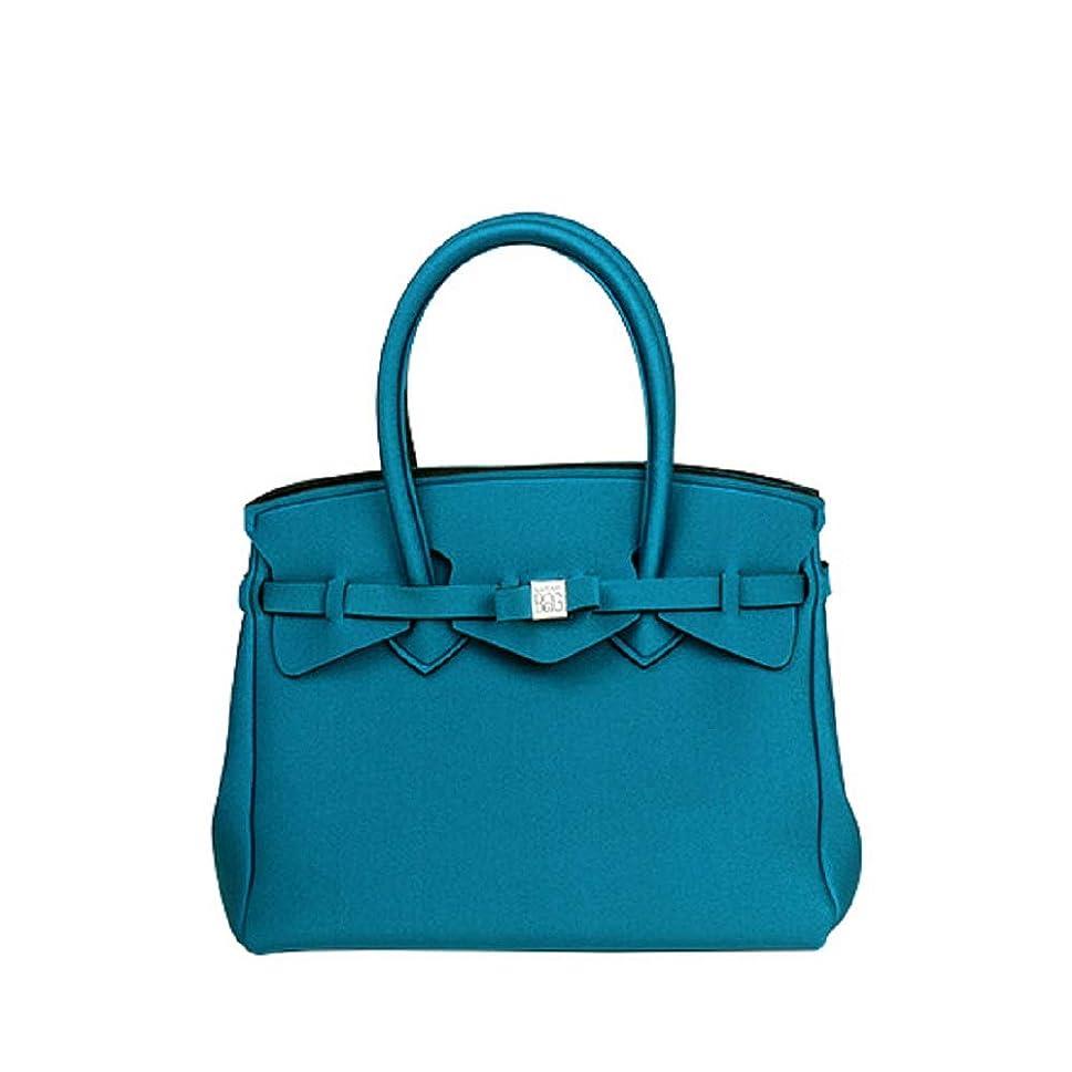 直接対応ビルダー[セーブマイバッグ]SAVE MY BAG MISS ミス ハンドバッグ 10204N メタリック METALLICS BLU FONDALE(メタリックブルー) [並行輸入品]