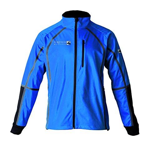 DEPROC-Active Herren Midlayer Softshelljacke Thorsby Jacke, Blue Black, L