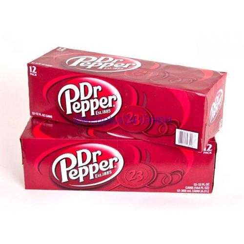 Dr Pepper Classic 355ml x24