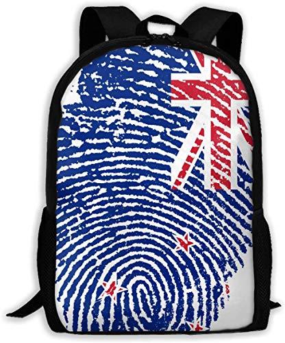 gxianyuyib Reiserucksack Laptop Rucksack Große Wickeltasche Neuseeland Rucksack Schulrucksack für Frauen & Männer