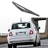 Busirde Fenêtre Lunette arrière Essuie-Glace Balai d'essuie-Glace de de Voiture Bras de Lame pour 3 Portes Fiat 500 2007+ Pièces Auto durables