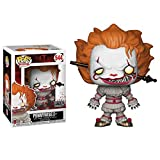 Lotoy Funko Pop Movie : Stephen King'S It - Pennywise (Head Piercing) Figure 3.9inch Vinyl Gift for ...
