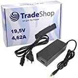 Notebook Laptop Netzteil Ladegerät Ladekabel Adapter 19,5V 4,62A 90W inkl. Stromkabel für Dell Latitude D400 D410 D500 D505 D510 D520 D600 D610 D620 D800 D810 D820 100L X1 X300 D-400 D-410 D500 D-505