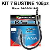 Maver Kit 105 Ami Surfcasting KS1 7 bustine