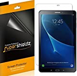 (3 Pack) Supershieldz for Samsung Galaxy Tab A 10.1 (SM-T580, SM-T587 Model 2016 Release) Screen Protector, High Definition Clear Shield (PET)