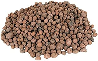 Hydrofarm Grow it Hydroponic Clay Pebbles Grow Media Expanded Porous Rocks 4 Liter Bag