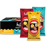 Hilo Life Keto Friendly Low Carb Snack Mix, Super Cheesy, Really Ranchy & Piece-A-Pizza, 6 Count 3 Flavor Variety Pack 8.88 Ounce