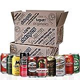 Spanisches Bier, 10 Dosen 330 ml, San Miguel, Cruz Campo, Estrella Galicia, Mahou