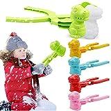 NMSLCNM Schneeball Maker Winter Schneeball Form Spielzeug Kunststoff Sandball Schneeball Clip für Kinder im Freien Spielen Schnee, Outdoor 1 Sekunde schnelle Schneeballherstellung Maschine (B)