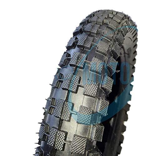 EMD12MCG - Neumático de goma con taco para moto Mini Cross Minimoto Minimoto Mini Cross 12 1/2 x 2,75