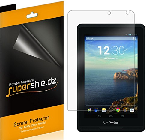 (3 Pack) Supershieldz Designed for Verizon Ellipsis 7 Screen Protector, High Definition Clear Shield (PET)
