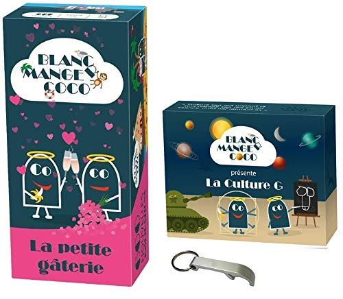 Pack Jeu Blanc Manger Coco Tome 3: La Petite gâterie + Extension Culture + 1 Décapsuleur Blumie
