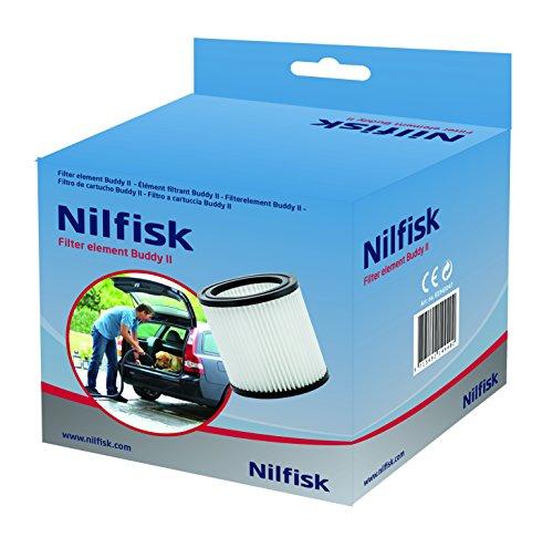 Nilfisk 81943047 PET-Filterelement für Nass-/Trockensauger Buddy II, blau, einheitsgröße