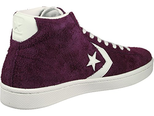 Converse Mens Pro Leather mid 157691c Leather Hight, Dark sangriave, Size 8.5