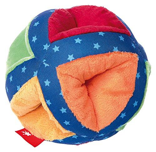 sigikid, Mädchen und Jungen, Soft-Aktiv-Ball, PlayQ Basic Steps, Lern und Experimentierspielzeug, Mehrfarbig, 41532