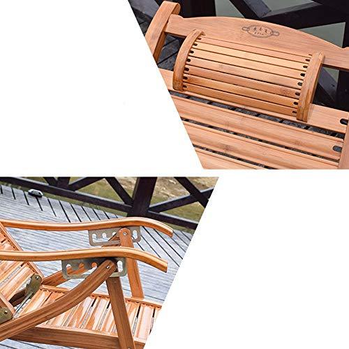 YP Dormitorio Cama Silla, Estudiante Lazy Chair, Colegio Dormitorio Artefacto Bamboo Silla Bamboo Folding Chair Siesta Mecedora Home Leisure Tumbonas Happy Ballet Chair Mecedora