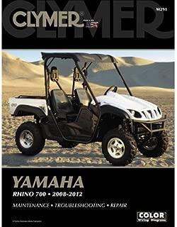 Clymer Repair Manuals for Yamaha RHINO 700 FI 4x4 Auto 2011-2013