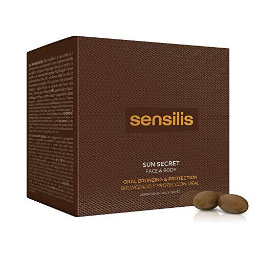 Sensilis - Sun Secret - Complemento Alimenticio de Protección Solar vía Oral - 30 Cápsulas