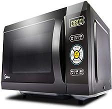 PLEASUR Inversor de Pantalla LCD táctil Inteligente Horno de microondas 900W Calefacción rápida Ahorro de energía 25L Forro de Acero Inoxidable Horno de convección