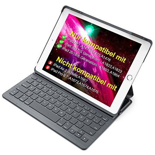Inateck Tastatur Hülle kompatibel mit 9.7