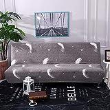 Knowled Funda de sofá sin Brazos elástica, Protector de