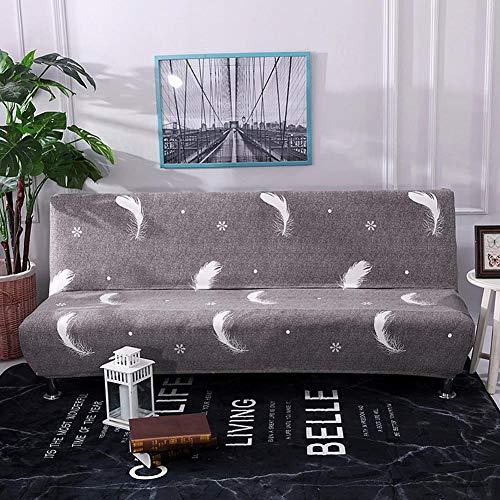 Knowled Funda de sofá sin Brazos elástica, Protector de slipcover unda elástica Plegable, Ideal para sofá o sofacama.