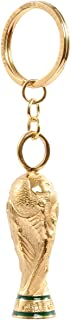FIFA 2014 Brazil World Cup Soccer Mini Trophy Keychain Gold-plated Copper