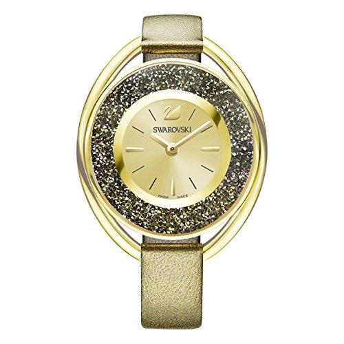 Swarovski Crystalline Oval Uhr, goldfarben