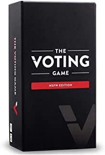 The Voting Game NSFW Edition Card Game - The Adult Party Game About Your Friends