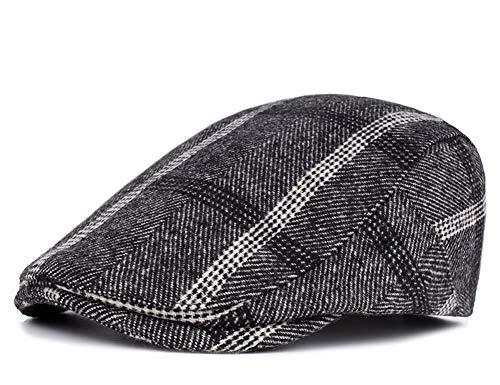 Roffatide Uomo Ricamato Cinghie Cuoio PU Soft Premium Cappellino da Baseball Strapback Autunno e Inverno